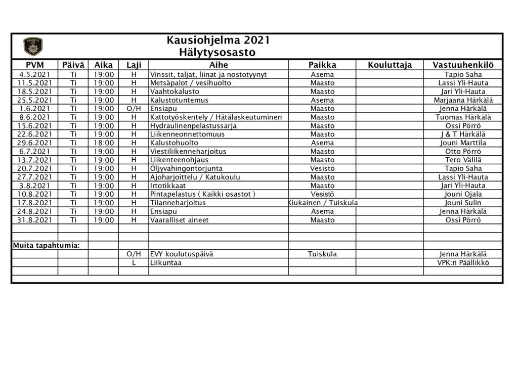 thumbnail of Tuiskulan_VPK_ohjelma_2021_kesä